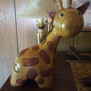 Solid wood giraffe statue,  perfect 4 nursry